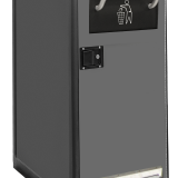 SC5.5 Single - Waste Hopper Black - Foot Pedal